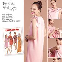 Simplicity 8049 Pattern ( Size 8-10-12-14-16 )