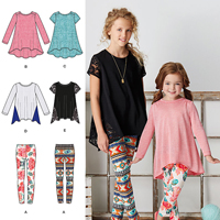 Simplicity 8105 Pattern ( Size 7-8-10-12-14 )