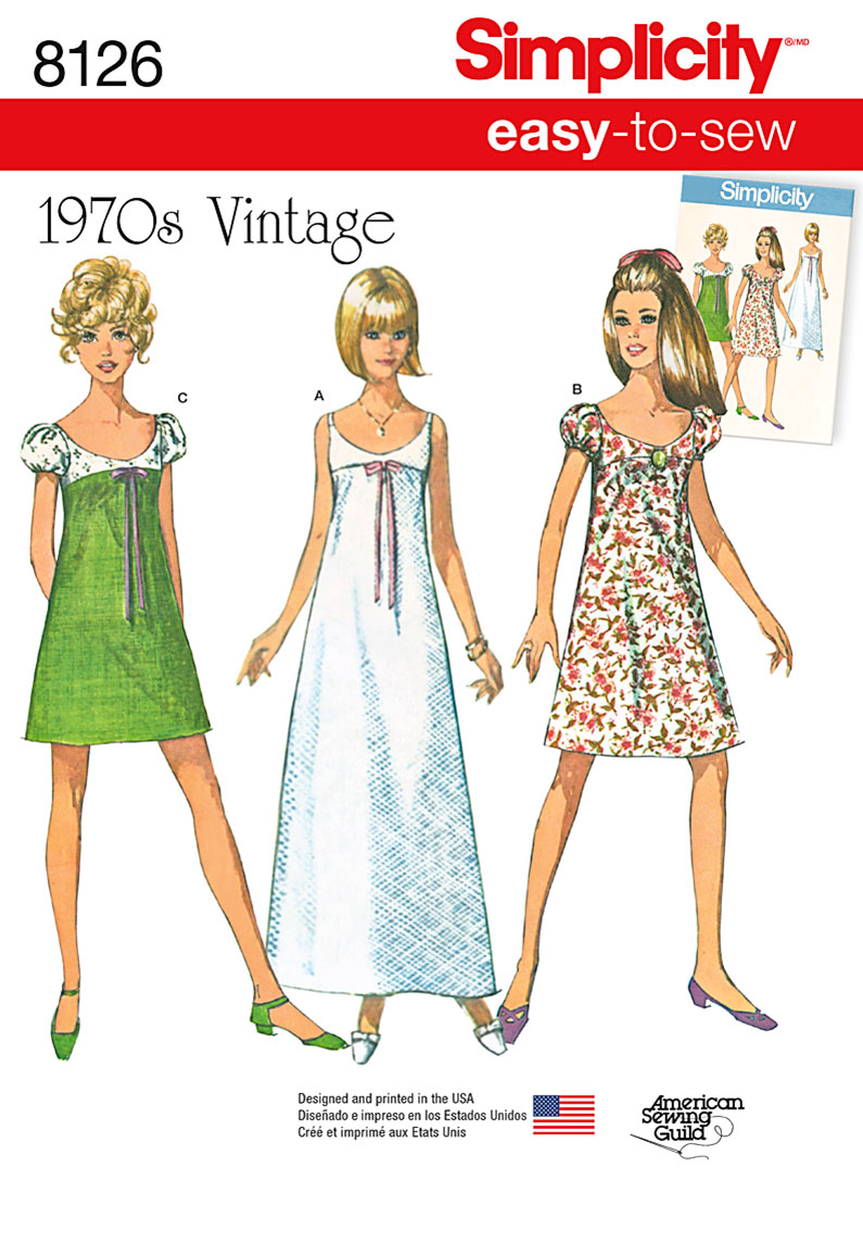 Simplicity 8126- Simplicity Pattern 8126 Misses' Easy-to ...