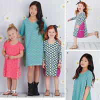 Simplicity 8147 Pattern ( Size 3-4-5-6 )