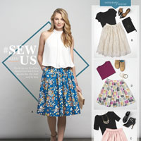 Simplicity 8176 Pattern ( Size 14-16-18-20-22 )