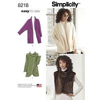 Simplicity 8218 Pattern