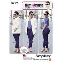 Simplicity 8222 Pattern