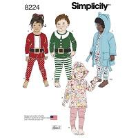 Simplicity 8224 Pattern ( Size 1/2-1-2-3-4 )