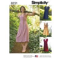 Simplicity 8231 Pattern