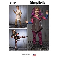 Simplicity 8241 Pattern ( Size 3-4-5-6-7-8 )