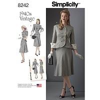 Simplicity 8242 Pattern