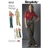 Simplicity 8243 Pattern ( Size 6-8-10-12-14 )