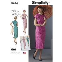 Simplicity 8244 Pattern ( Size 14-16-18-20-22 )