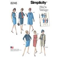 Simplicity 8246 Pattern