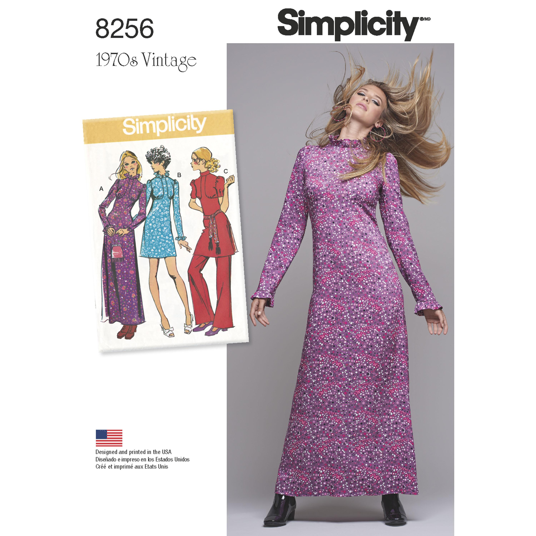 Simplicity 8256- Simplicity Pattern 8256 Misses' Vintage ...