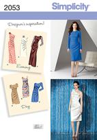 Simplicity 2053 Pattern ( Size 6-8-10-12-14 )