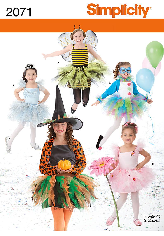 Simplicity Child's Costume 2071