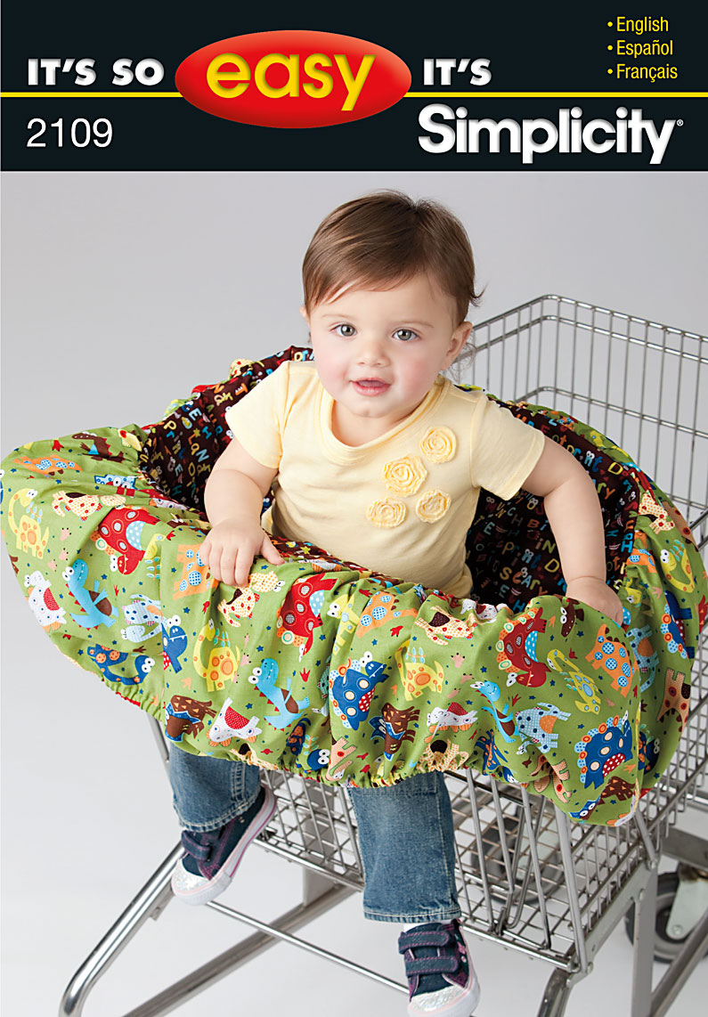 Simplicity Shopping Cart Seat Cover 2109