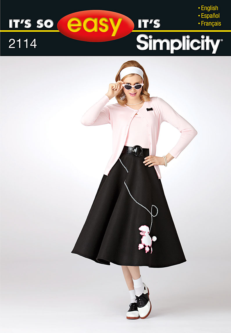 How to Make a Poodle Skirt Without a Pattern and