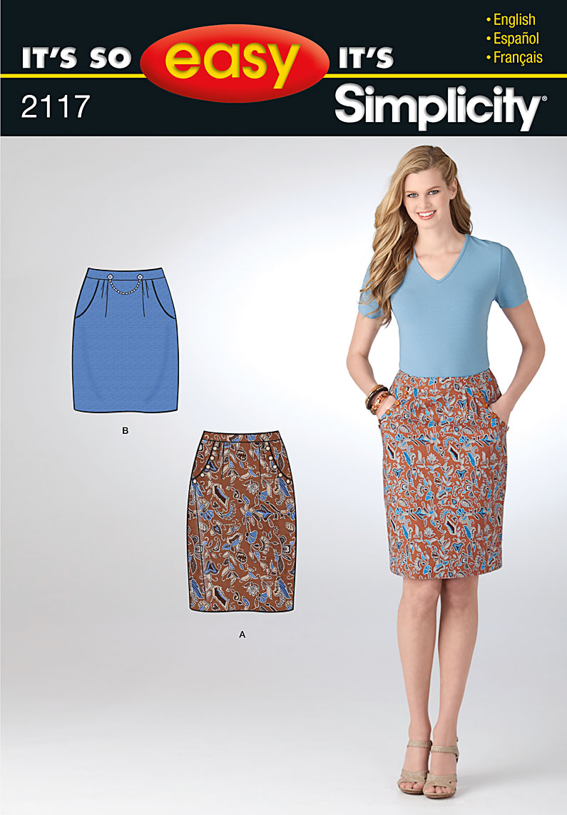 Simplicity Misses skirt 2117