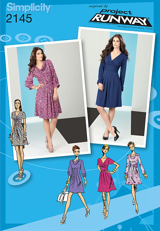 Simplicity Misses  Dress 2145
