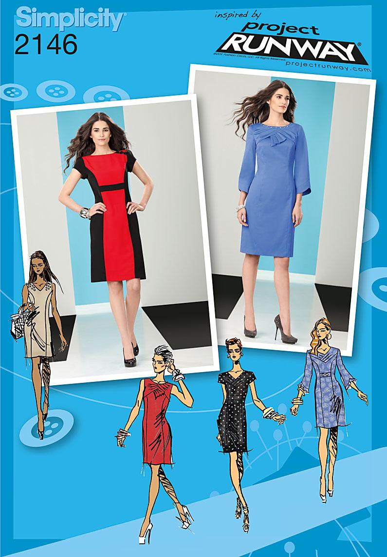 Simplicity Misses/Petite Dress 2146