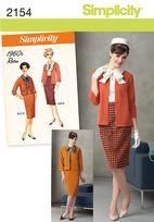 Simplicity 2154 Pattern ( Size 16-18-20-22-24 )