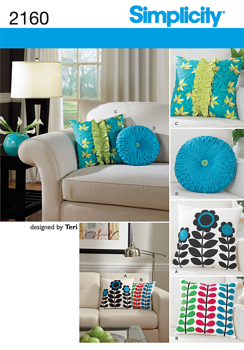 Simplicity Home Decorating 2160