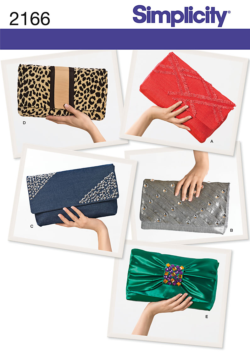 Simplicity Clutch Bags 2166