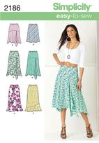 Simplicity 2186 Pattern ( Size 16-18-20-22-24 )