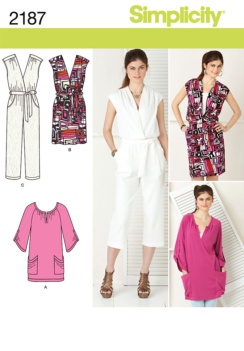 Unique M6083  Misses39 Jumpsuit In 3 Lengths And Sash  New Sewing Patterns