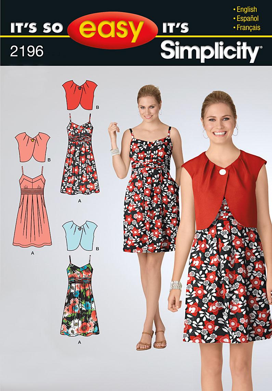 Simplicity misses dresses 2196