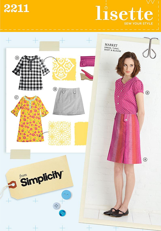 Simplicity Misses' Sportswear 2211