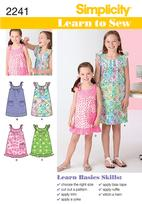 Simplicity 2241 Pattern ( Size 3-4-5-6 )