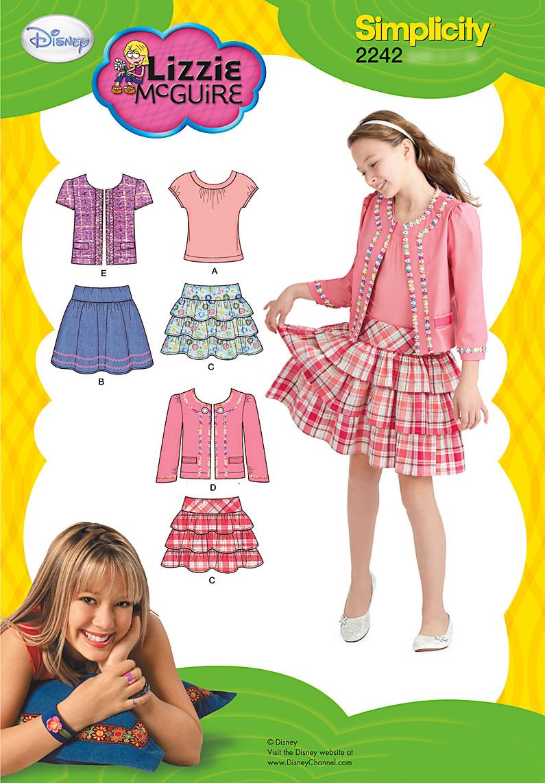 Simplicity Girl's Sportswear 2242
