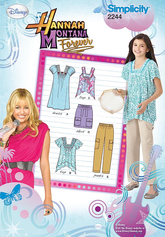 Simplicity Girl's Sportswear 2244