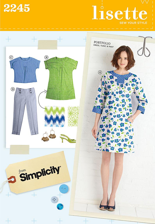 Simplicity Misses' Sportswear 2245