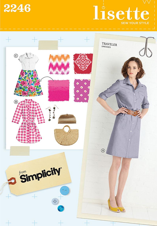 Simplicity Misses' & Miss Petite Sportswear 2246