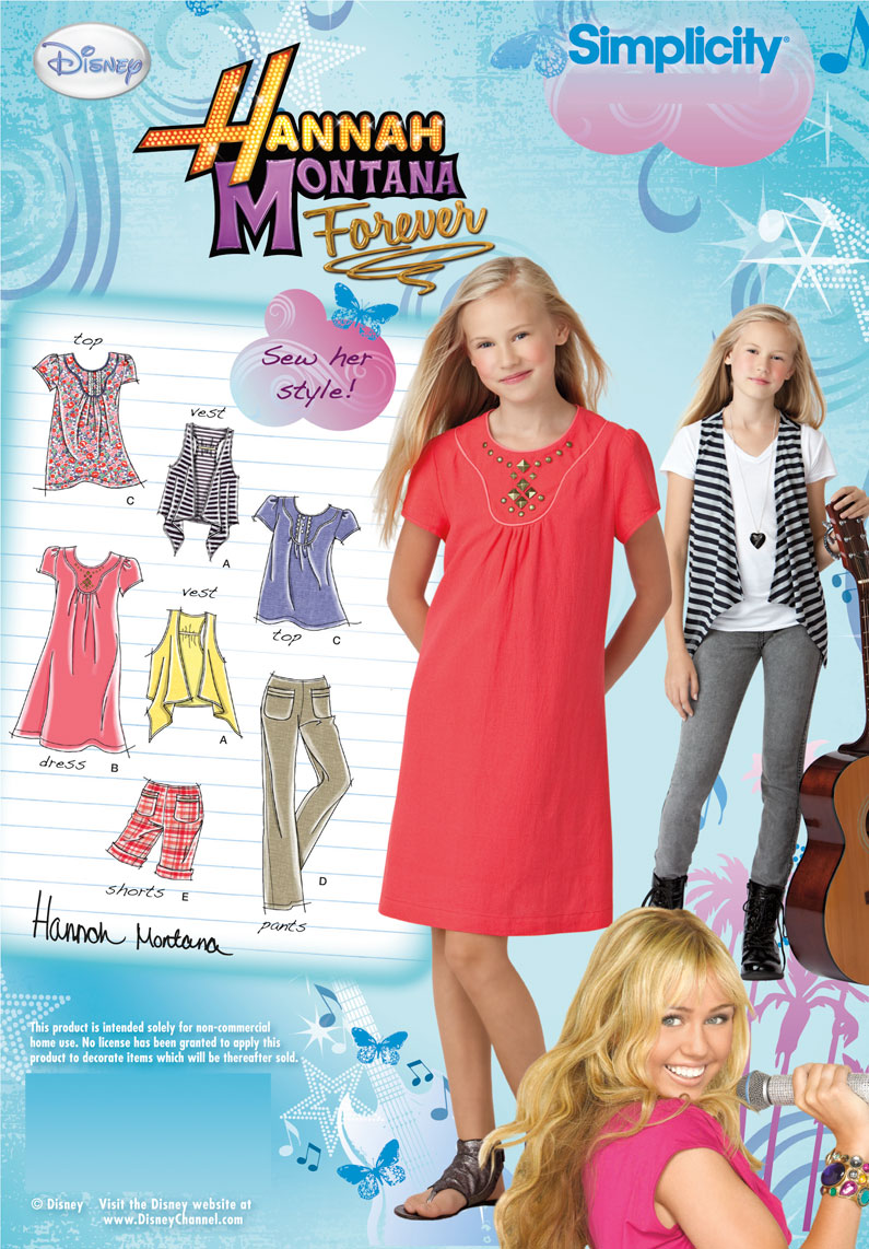 Simplicity girls dress,top,pants, shorts and vest