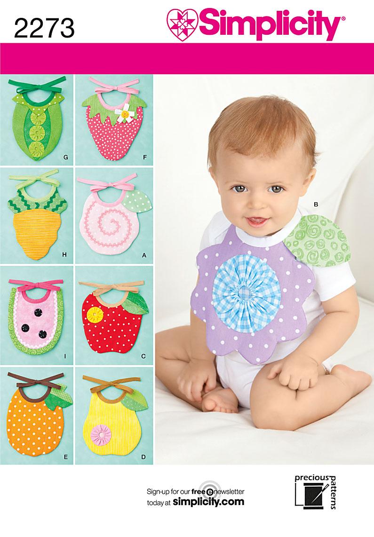 Simplicity Baby Bibs 2273