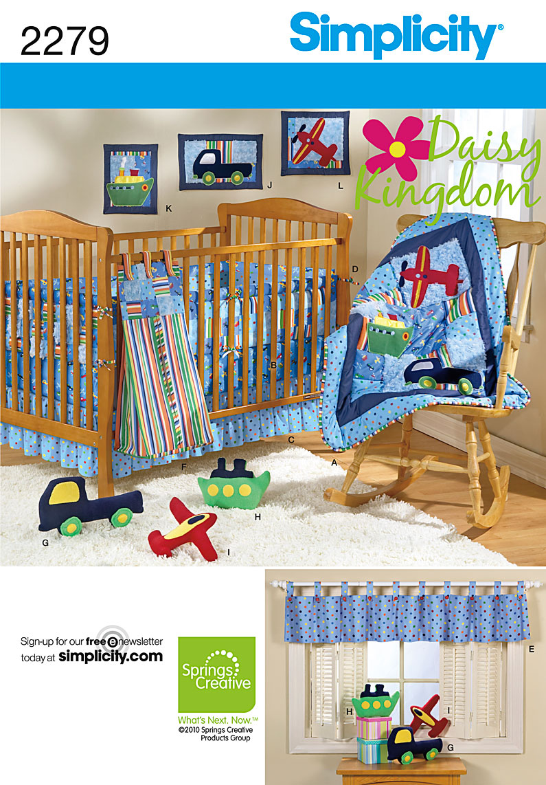 Simplicity Nursery Home Decorating