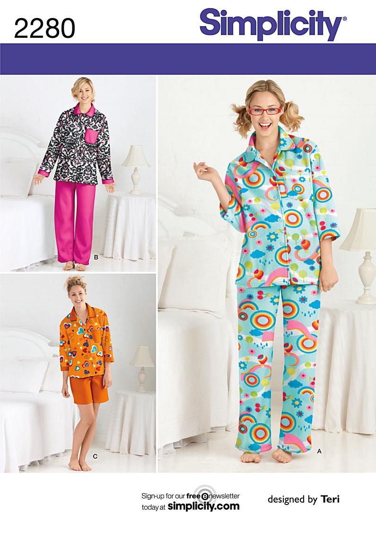 Simplicity misses pajamas  2280