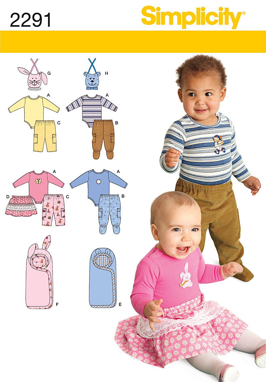 Simplicity Babies' Separates 2291