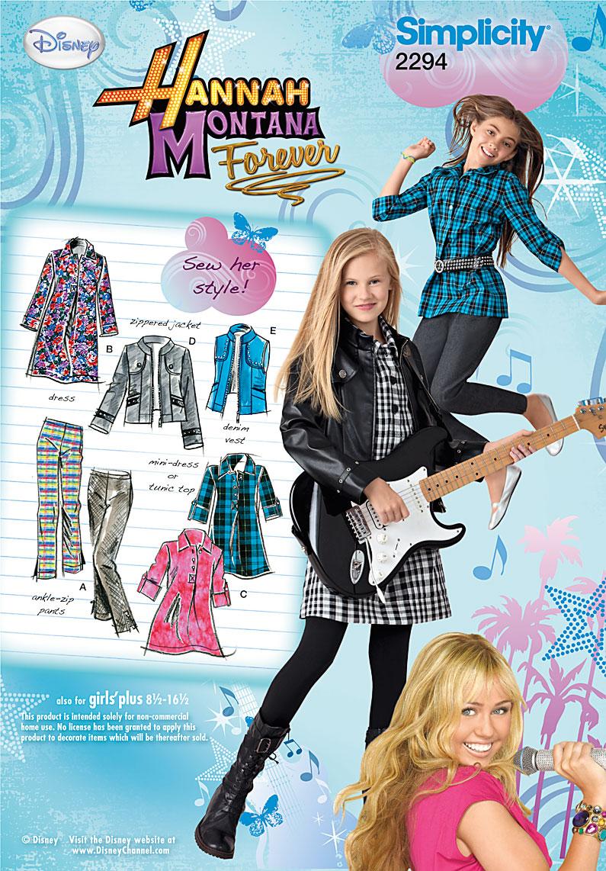 Simplicity Girl's & Girl's Plus Sportswear 2294