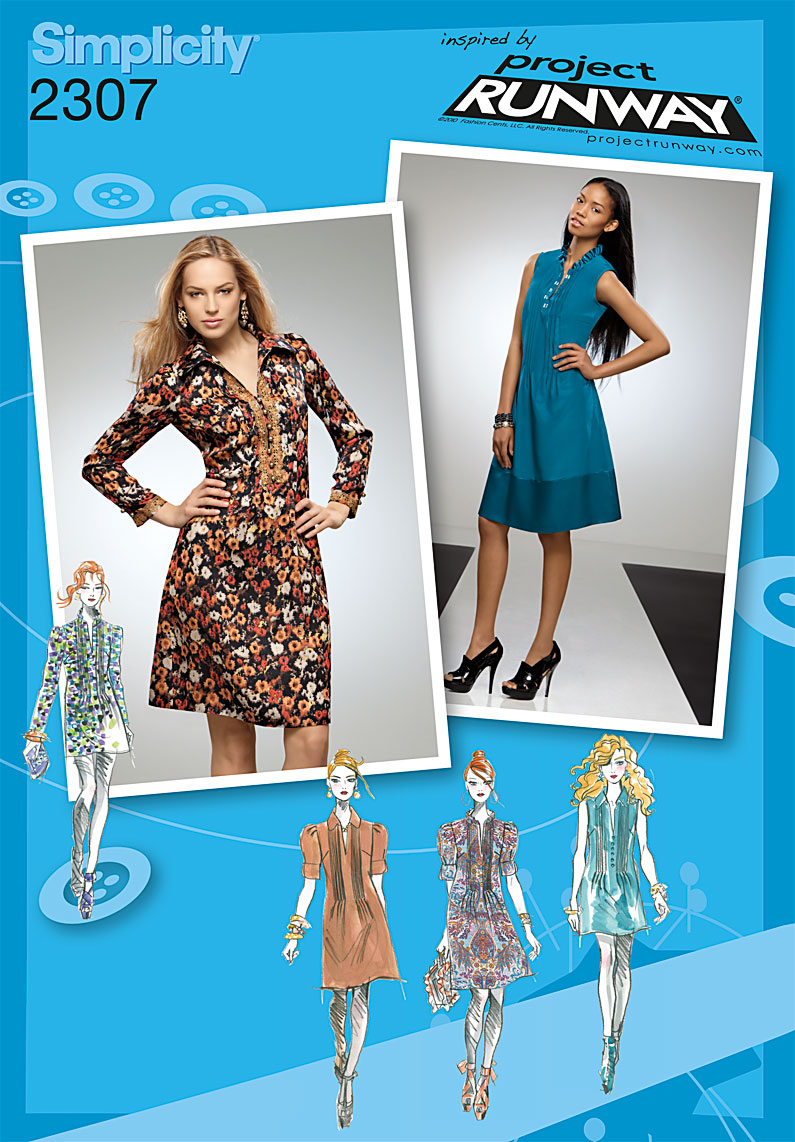 Simplicity Misses' & Miss Petite Dress or Tunic 2307