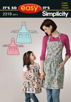 Simplicity 2319 Pattern( Size S )