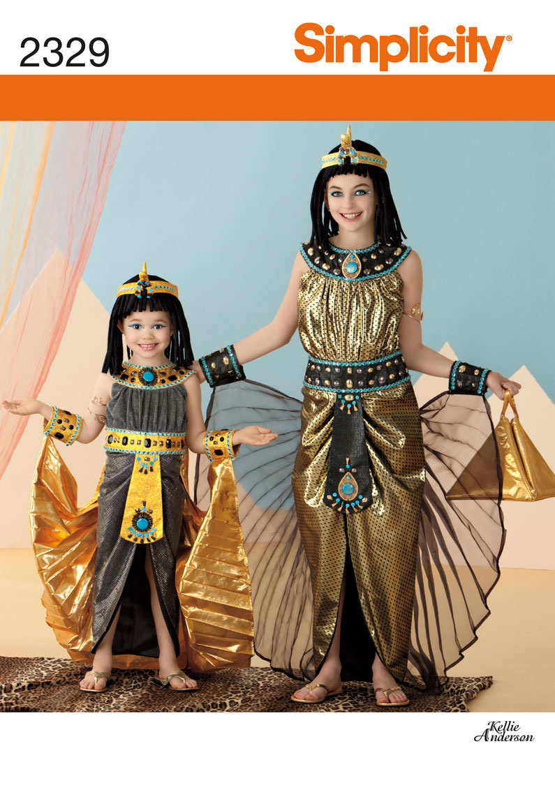 Simplicity Child's & Girls' Costumes 2329