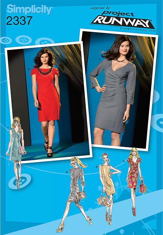 Simplicity Misses' Dress 2337