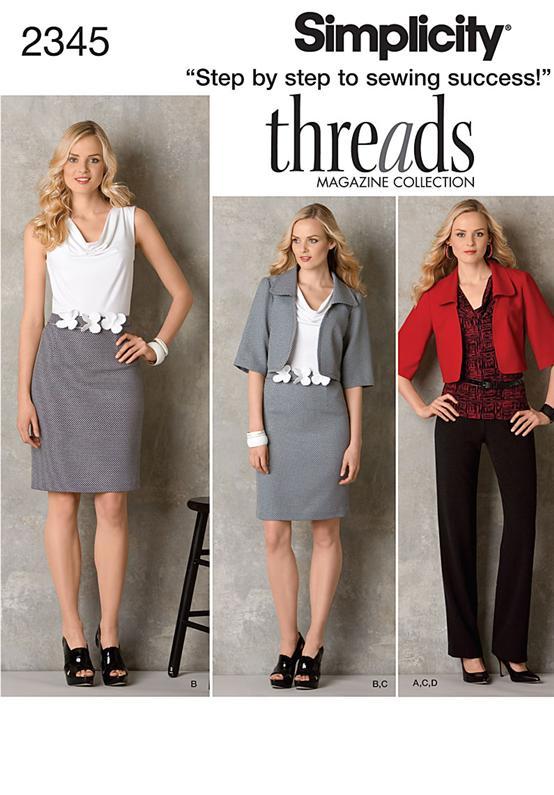 Simplicity Misses' & Miss Petite Sportswear 2345
