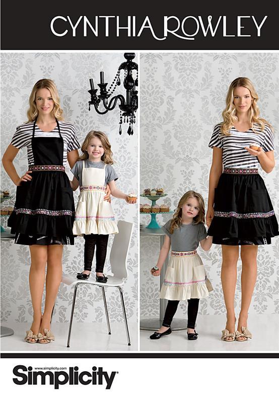 Simplicity Misses' & Child's Apron 2351