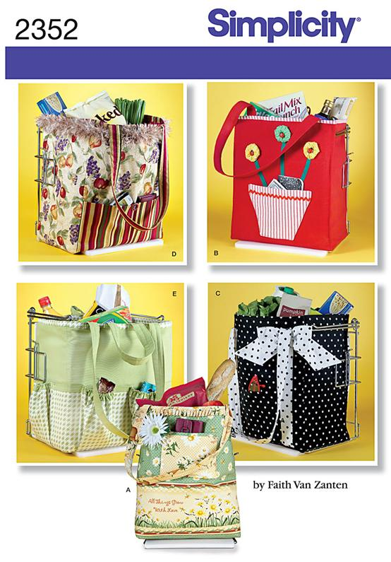Simplicity Shopping Bags 2352