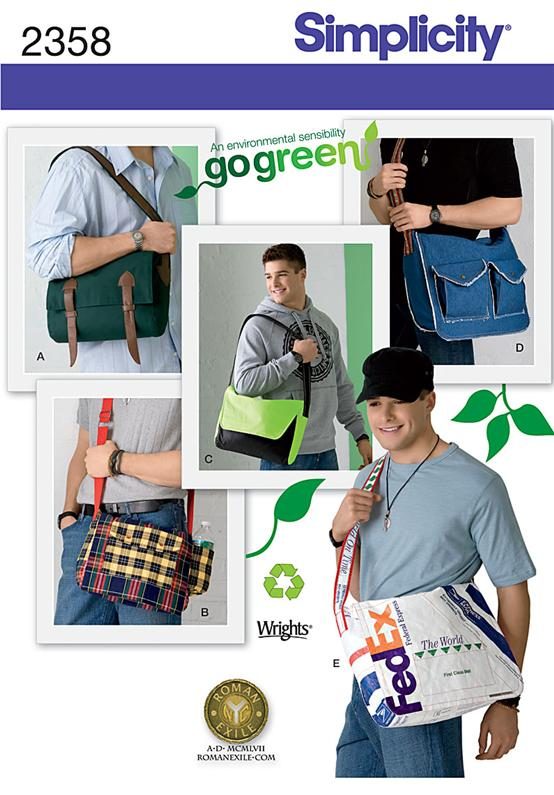Simplicity Men's Messenger Bags 2358