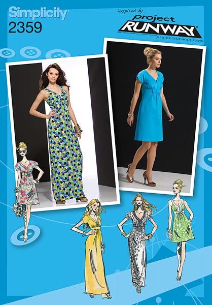 Simplicity Misses' Dresses 2359
