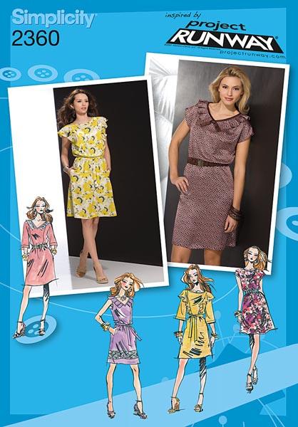 Simplicity Misses' Dresses 2360